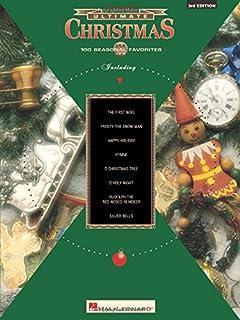 Ultimate Christmas 100 Seasonal Favorites Easy Piano 3rd Edition