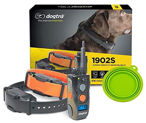 Dogtra 1902S Field Star E Collar - 3/4 Mile Remote Trainer with LCD Screen - Fully Waterproof Collar...