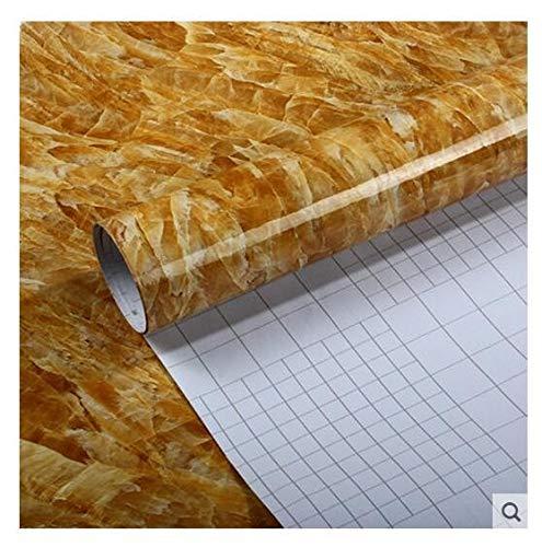 Adhesivo autoadhesivo de mármol de PVC de 5 metros, para renovación de muebles, azulejos de cocina, vinilo para pared, película decorativa del hogar (color DSL509, dimensiones: 5 m x 60 cm)
