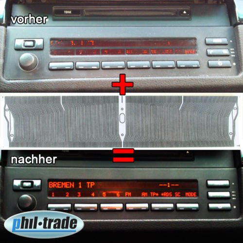 Pixel Reparatur Radio Bildschirm Display Kontaktfolie Flexband