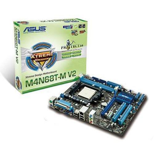 Asus M4N68T-M V2 Mainboard Sockel AMD AM3 nF630a 2X DDR3 Speicher Mikro ATX
