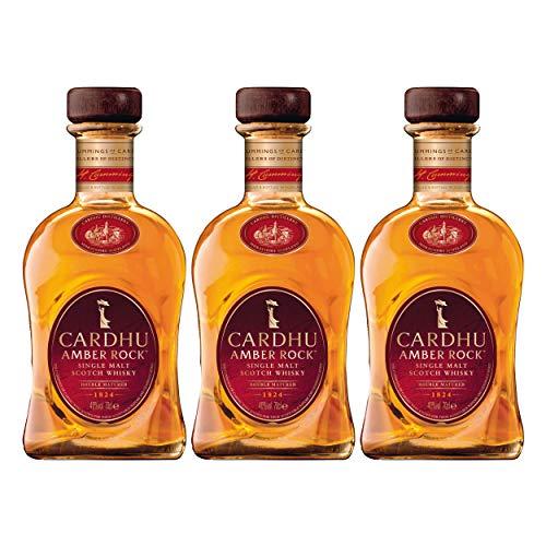 Cardhu Amber Rock, 3er, Single Malt, Whisky, Scotch, Alkohol, Alokoholgetränk, Flasche, 40%, 700 ml, 715395
