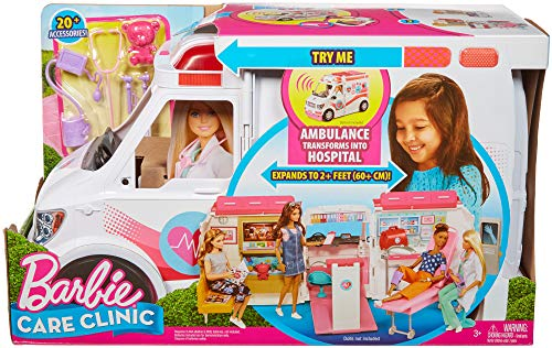 Ambulance de Secours Clinique Soins Médical Barbie - 9