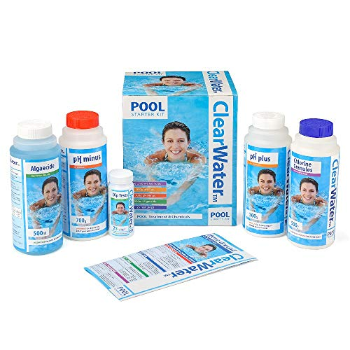 Clearwater CH0017 Pool Chemical Starter Kit for Above Ground...