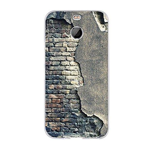 FUBAODA für HTC 10 EVO/für HTC Bolt Hülle,Hochwertiger Ultra Dünn TPU Silikon Bumper, Kunst Design Zeichnung[Alte Mauer],Dauerhafter Schutz Handyhülle für HTC 10 EVO/für HTC Bolt(5.5