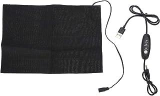 Taille verwarmingsmat, USB opladen, gewassen lichtgewicht zwarte stoffen verwarming, draagbaar praktisch voor lumbale opwa...
