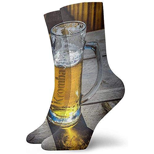 Bierkrug Socken Frauen Männer Crew Socken Winter Warm halten Mode Schöne Socken