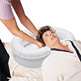 Aufblasbares Haarwaschbecken für bettlägerige große aufblasbare Shampoo-Waschbecken, tragbare Shampoo-Schüssel