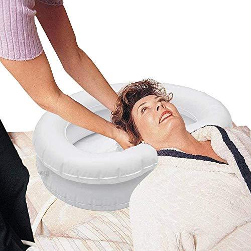 Inflatable Hair Washing Basin for Bedridden Large Inflatable Shampoo Basin...