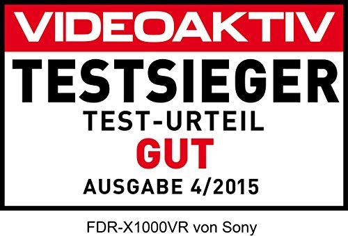 Sony FDR-X1000 4K Actioncam Live-View Remote Kit -170 Ultra-Weitwinkel – weiß - 28