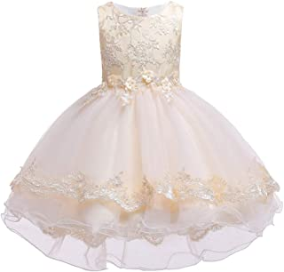 Luxury Princess Dress Children Dress Princess Dress Girls Skirt Dress Catwalk Models Large Tail Wedding Flower Girl Dress Tutu Little Piano Performances Hosted Costumes ryq