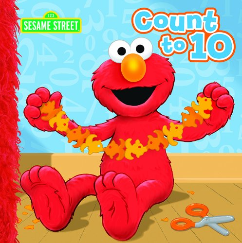 Bendon Publishing Sesame Street Count to Ten Storybook