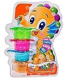 Premium Badespaß Bath Toys für Baby & Kinder - Badeförmchen Meerestiere mit genialen...