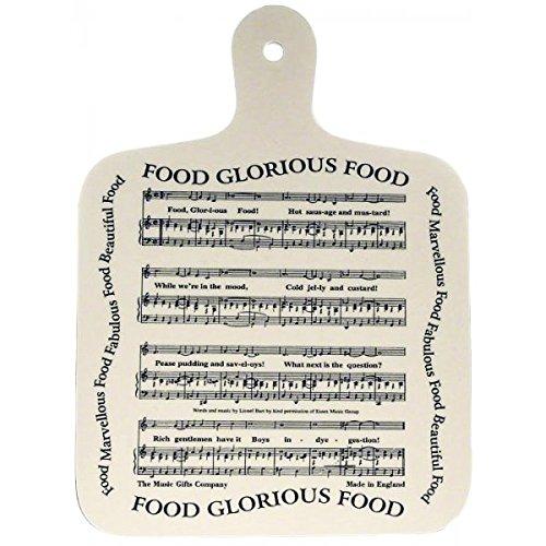 Muziek Geschenken Bedrijf Voedsel Glorieuze Voedselsnijplank