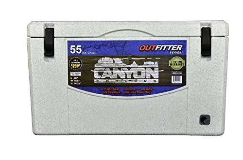 Canyon Coolers Outfitter Series 55-qt. Cooler, WHITE