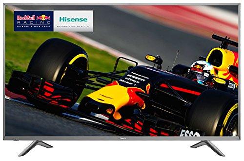 Hisense–Ultra HD Smart TV, LED TV, 65Zoll (165,1cm), Auflösung: 3840x2160Bildpunkte, 4KBildqualität, Wi-Fi, Farbe: Grau-Silber, Artikel-Nr. H65N5750