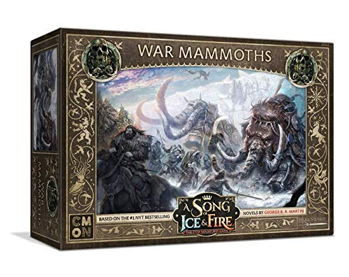 Cool Mini or Not CMNSIF412 War Mammoths: A Song of Ice and Fire, Neutral