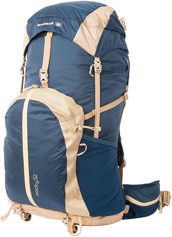 QRFDIAN Picknick-Rucksack Outdoor-Rucksack Bergsteigenbeutel Wanderrucksack kommt mit Regenschutz 52L 52L 52L für Familiencamping im Freien B07NQ93Y2J  Ausreichende Versorgung 322d0d