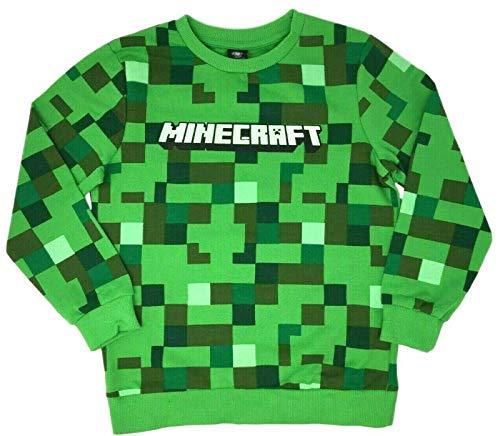 Paradise Bluza chłopięca Minecraft Creeper bluza top EX Store nowa