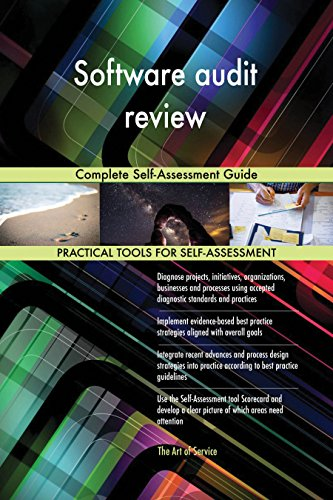 Software audit review Complete Self-Assessment Guide (English Edition)