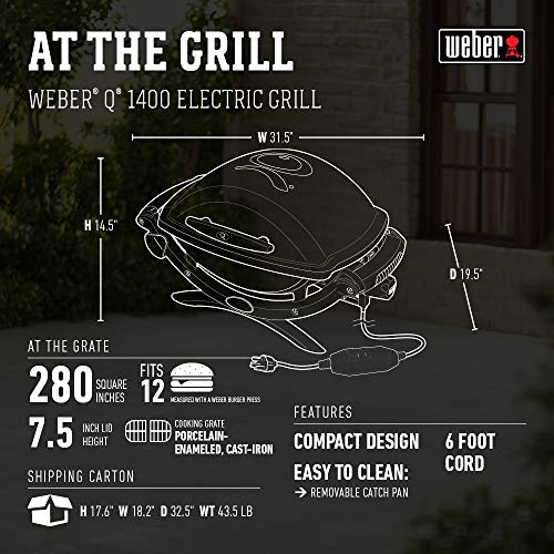 Weber q 2400 electric grill reviews