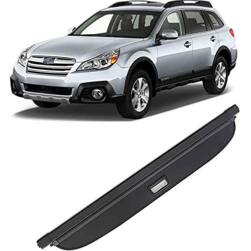 ZWH-box Car Curtain Trunk Partition Security Shield Screen Trunk Cargo Cover Luggage Shade Shield Security Protective Cover Decoration for Subaru Outback 2015~2018