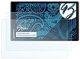 Bruni Schutzfolie kompatibel mit Garmin DriveSmart 61 LMT-D Folie, glasklare Displayschutzfolie (2X)