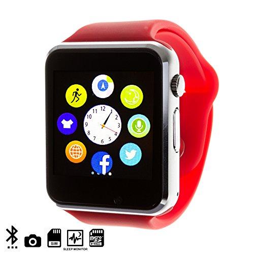 DAM DMQ238 - Smartwatch G08, Color Rojo