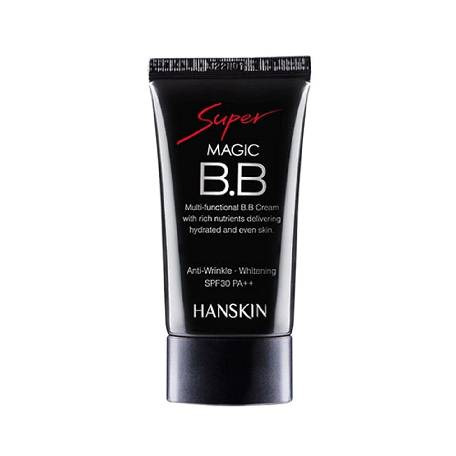 粘液キャンバス鬼ごっこ[ハンスキン] Hanskin スーパー マジック BB クリーム Super Magic BB Cream SPF30 PA+++ 45g [並行輸入品]