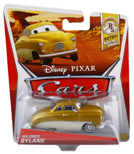 Disney Pixar Cars Mildred Bylane (Retro Radiator Springs, #8 of 8) - Voiture Miniature Echelle 1:55