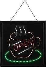 Ge/öffnet Schild 3-5W LED-Schild Gelb Energieeinsparung 18,8 x 9,8 x 0,7 Zoll LED Leuchtreklame Werbung LED Display Schild