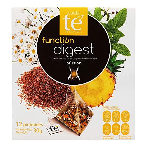 Cuida Té - Fuction Digest - Verdauungsinfusion (Roiboo-Minz-Kamille mit Vanille- und Ananasgeschmack) 30 g