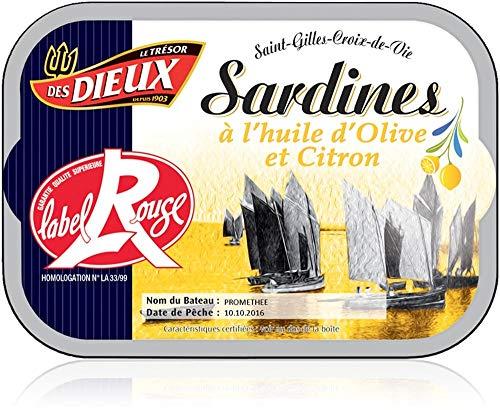 Sardinen in Olivenöl Extra mit Zitrone