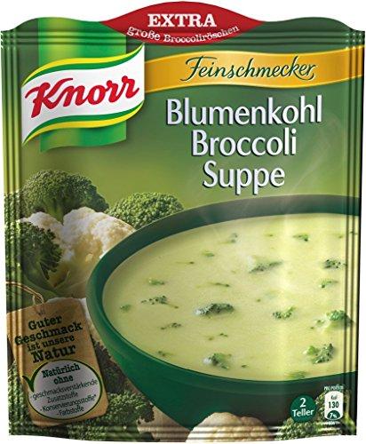 Knorr Feinschmecker Blumenkohl Broccoli Suppe