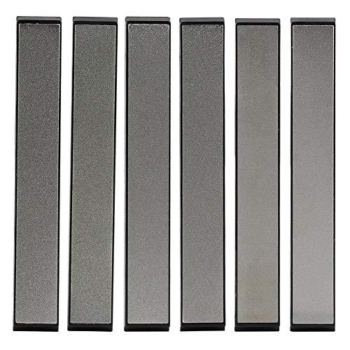 Sharpeners 16 piedras de afilar profesionales de 2,4 cm, piedra de afilar (6 unidades)