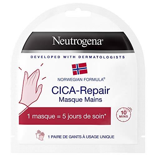 Neutrogena Masque Mains Cica Repair, Formule Norvégienne, 1 Unité