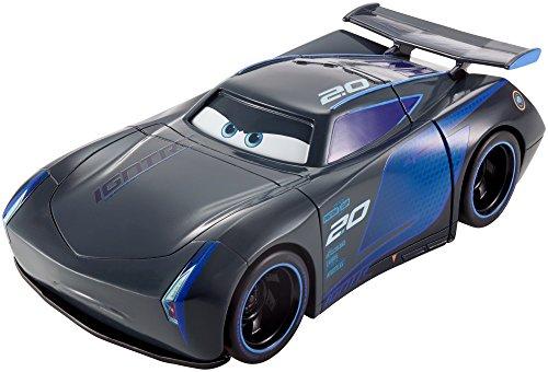 Cars 3 Vehículo Superchoques Jackson Storm, Coche de Juguetes (Mattel FRH17), Multicolor