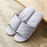 QPPQ Chanclas Unisex Adulto,Cómodas Zapatillas de Verano, Sandalias de baño Antideslizantes.-Gris_42-43,Antideslizantes Sandalias Chanclas