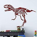 Hype circundante dinosaurio etiqueta de la pared decoración para el hogar sala de estar decoración extraíble calcomanías de pared calcomanía de moda pegatinas creativas 58X84cm