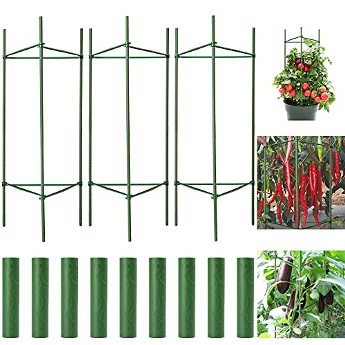 FOTMISHU Plant Cages Tomato Garden Cages Stakes...