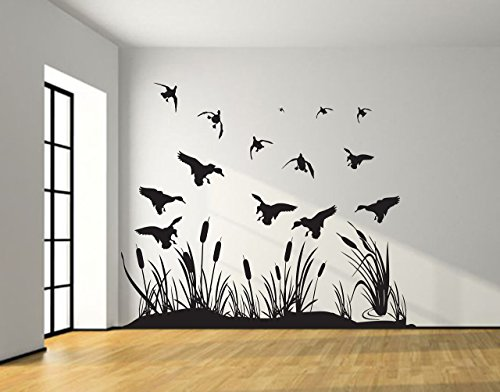 Duck hunting wall decals
