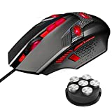 Gaming Mouse, TeckNet RAPTOR Pro 7000 DPI Programmable Gaming Mice, 8 Programmable Buttons