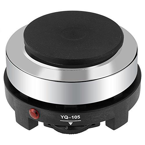 SOONHUA Portable 220V 500W Electric Mini Stove Hot Plate Multifunction Home Heater(EU Plug)
