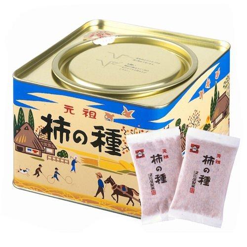 浪花屋製菓元祖柿の種27g×12袋レギュラー缶(包装済み)K10