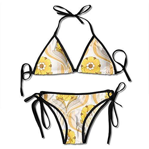 Felsiago Bikinis, D5F48B864Dfc20D81Db04Ceb6Be971D4-Blumen-Tapete-Dänische Mädchen Bikini Badeanzüge Soft Print Bikini Swimwears