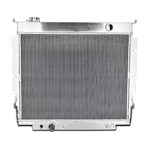 Spec-D Tuning Diesel V8 MT 3-Row Aluminum Performance Cooling Radiator for 1983-1994 Ford F250 F350