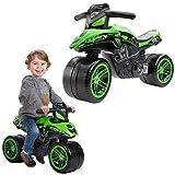 FALK - Moto draisienne Kawasaki Bud Racing - Dès 2 ans - Fabriqué en France - Roues extra larges - Développe l'équilibre et la motricité - 502KX