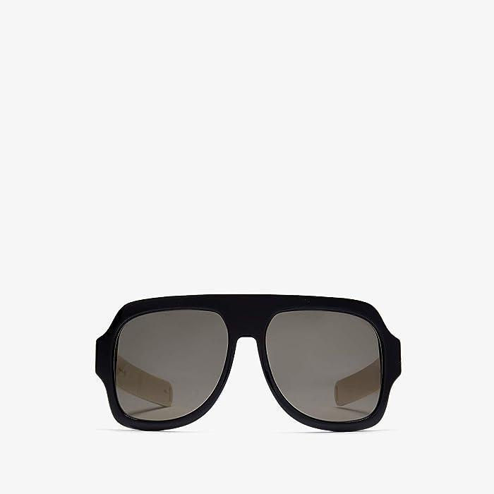 Gucci  GG0255S (Black) Fashion Sunglasses