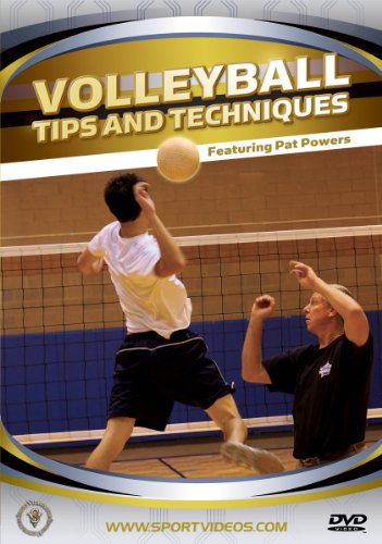 Volleyball Tips and Techniques DVD featuring Coach Pat Powers (Drills for all Positions and Players)