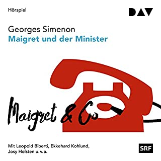 Maigret und der Minister (Kommissar Maigret 46) Titelbild